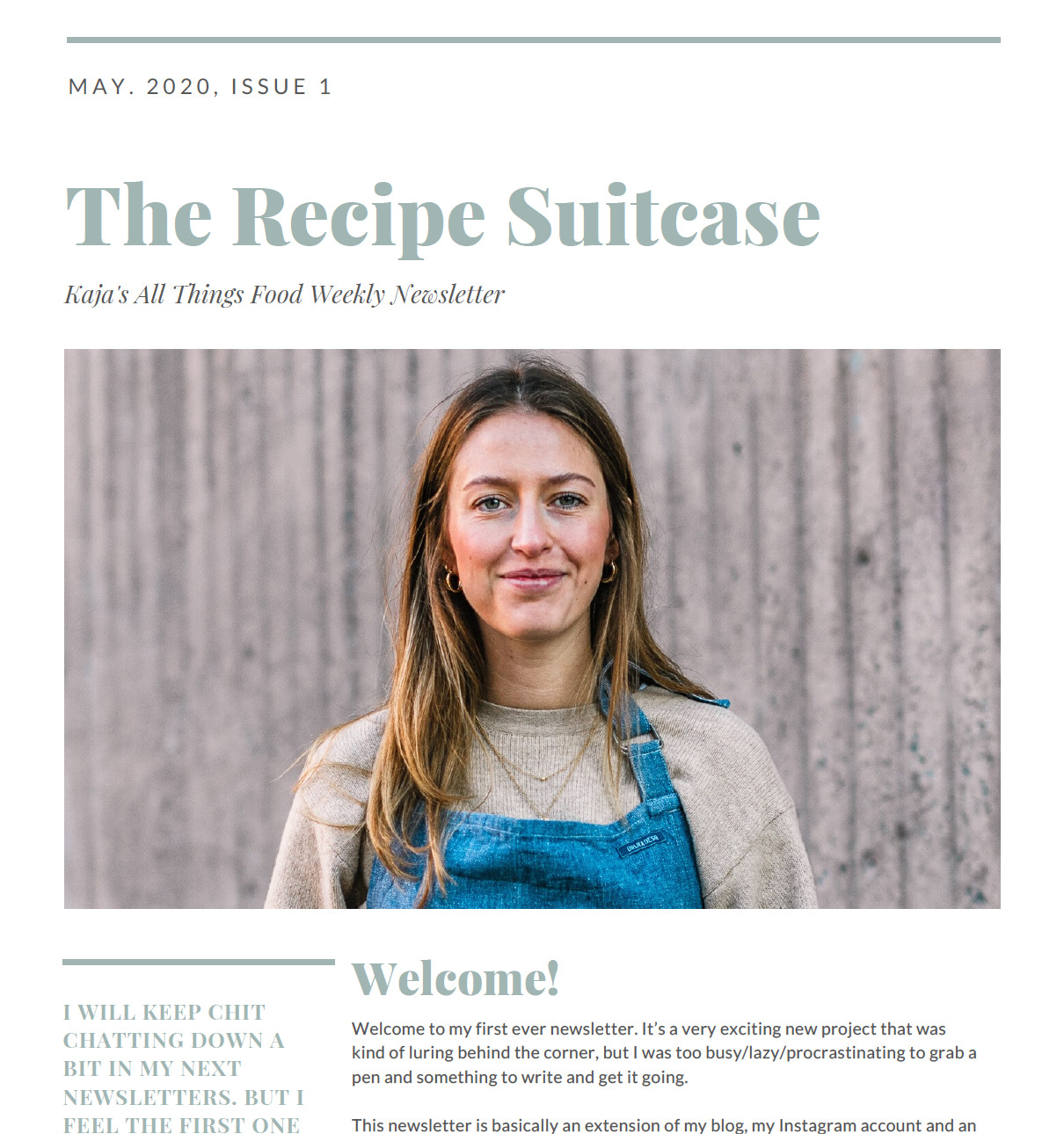 Exciting News I launched a Weekly Recipe Newsletter   The Recipe ...