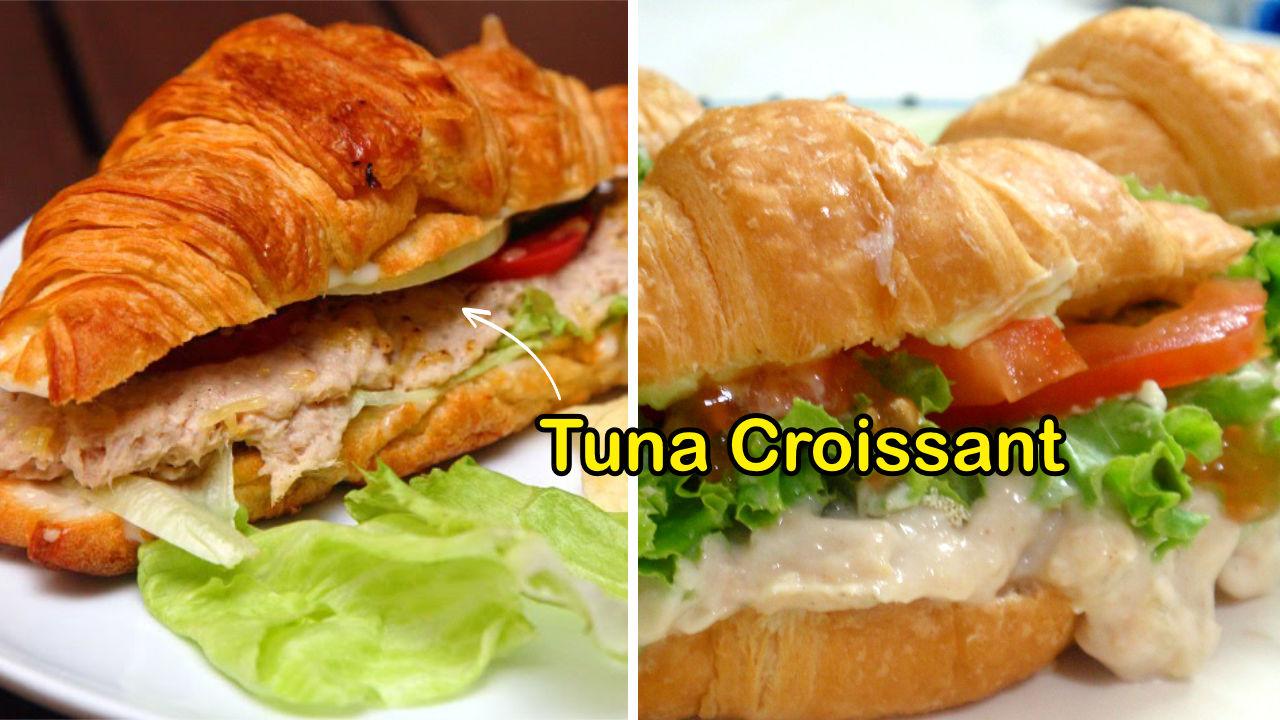 resepi tuna croissant