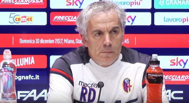 La conferenza stampa di Roberto Donadoni pre Bologna Juventus