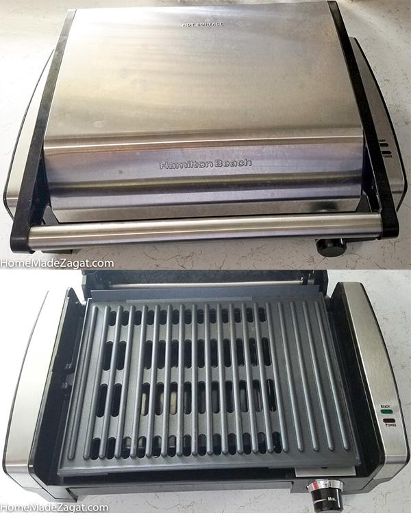Hamilton Beach smokeless grill