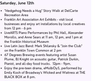 Escape to the Arts! Saturday, June 12