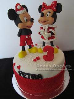mickey minnie disney cake