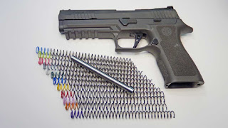 P320, X5, Legion, Sig, Sig Sauer, Recoil Spring, Tune, Power Factor, Double Tap, Cycle, Function