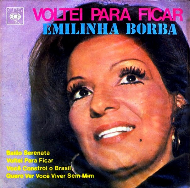 """Emilinha Borba - """"Voltei para ficar"""" [1972]"""
