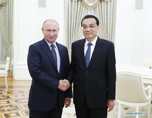 Chinese and Russian governments forms stronger trade ties