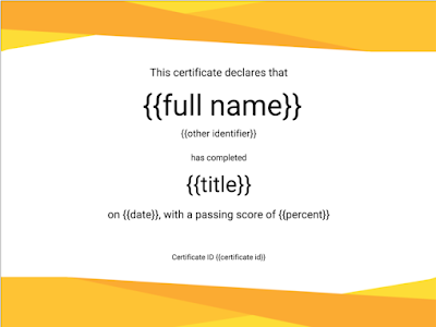 Here Is A Great Google Drive Tool to Help You Create Custom Certificates to Share with Your Students