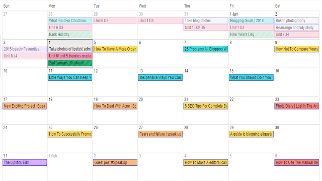 Blogging advice juggle blog and work life calendars