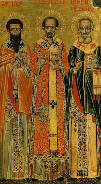 Αποτέλεσμα εικόνας για sfintii trei ierarhi icoana