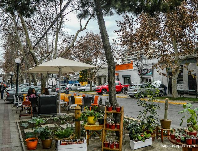 Bairro Itália, em Santiago do Chile