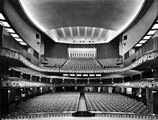 The inside of Milan's Teatro Lirico during its heyday in the 1930s