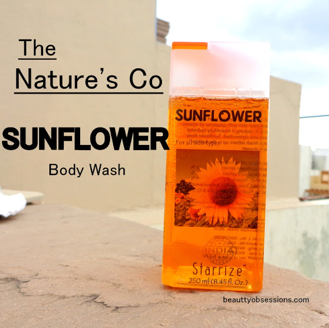 The Nature's Co Sunflower Body Wash - Review