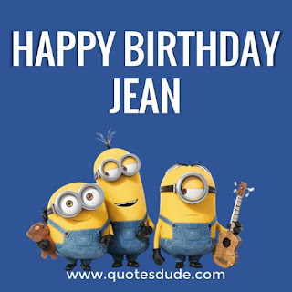 Happy Birthday Jean Friends