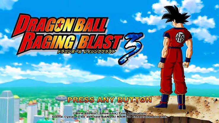 Dragon Ball Ragging Blast PSP For Android TTT Mod Download