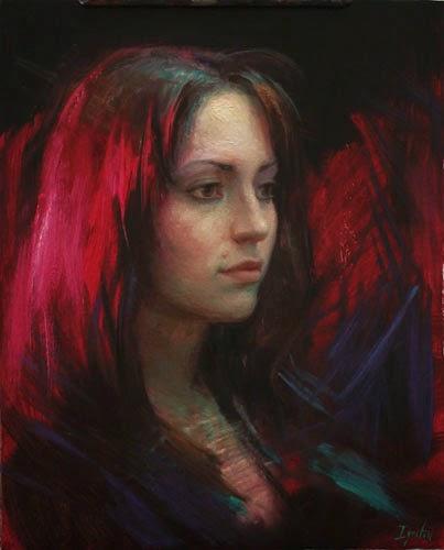 Carmesim Profundo - Ignat Ignatov e suas mais belas pinturas  ~ Pintora russa