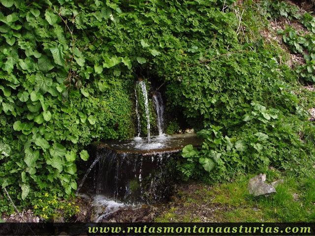 Fuente próxima a Riomolín