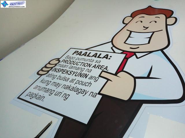 Sticker on Sintra Board - Futaba Philippines