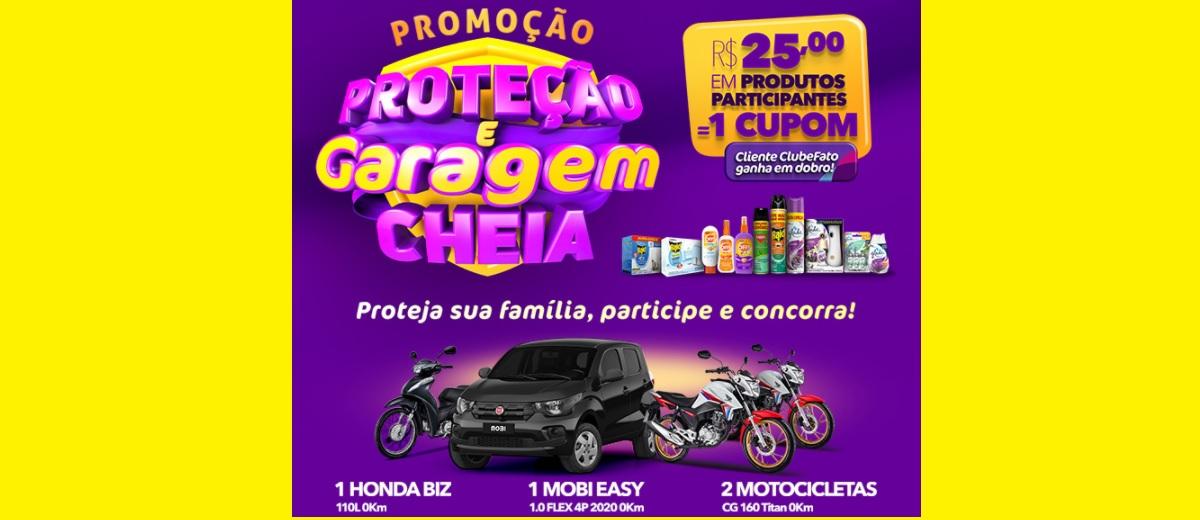 Promoção Super Muffato 2021 Proteção e Garagem Cheia - Carros e Motos