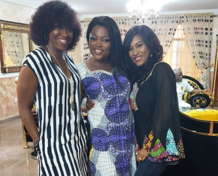 funke akindele housewarming party