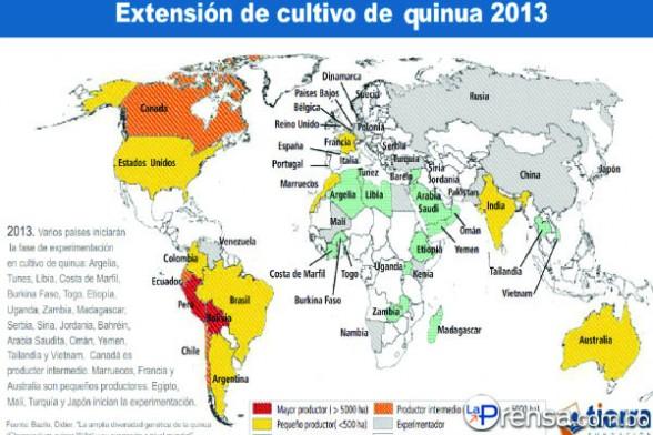 Eva Rodrguez Braa 2013 Ao Internacional de la Quinoa