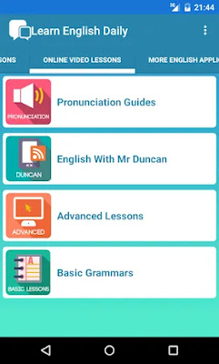 Learn English Daily App