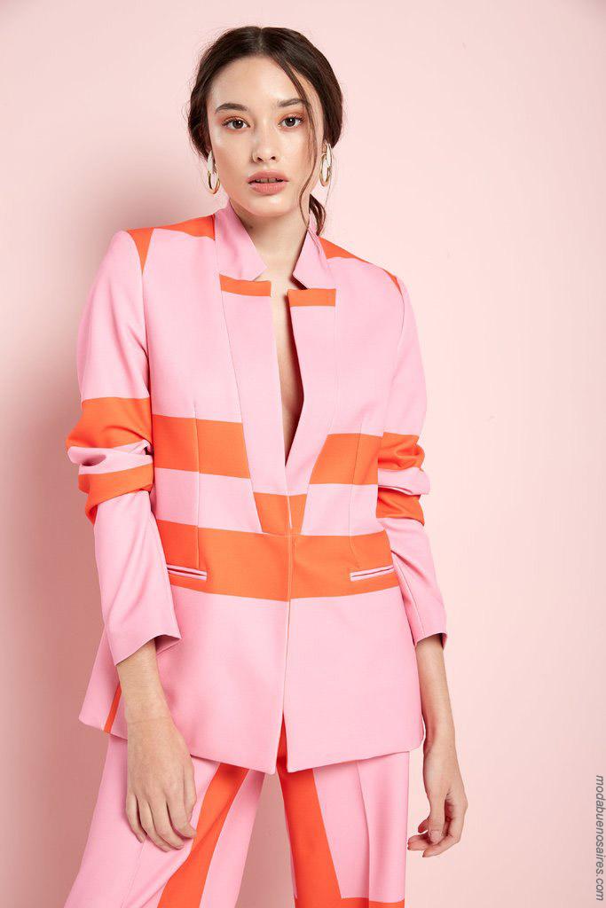 Moda primavera verano 2020 blazers. Ropa de moda 2020.