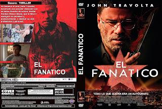 CARATULA 2 EL FANATICO - THE FANATIC 2019[COVER DVD]