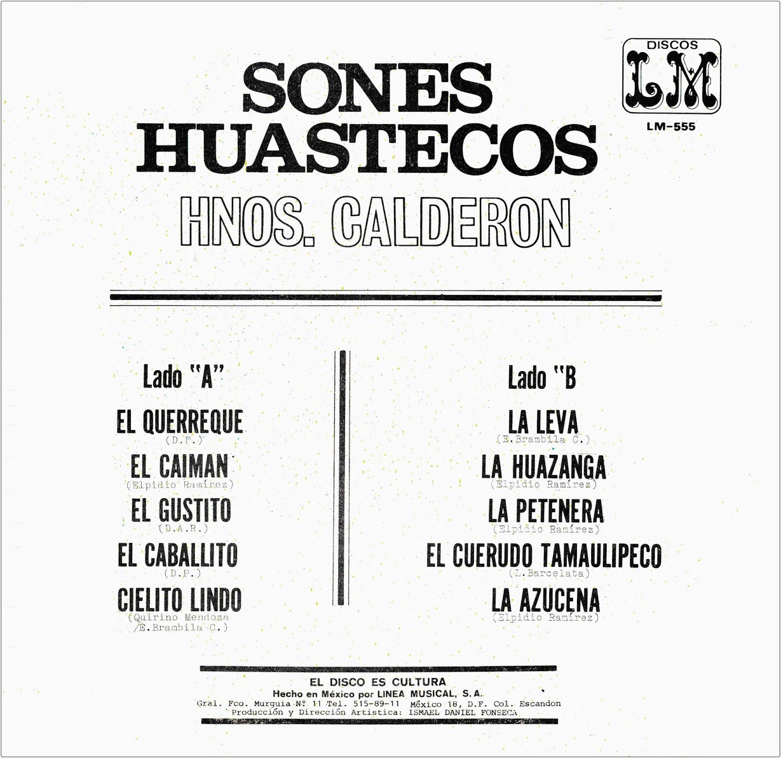 Fonoteca de la danza folclórica de México: SONES HUASTECOS