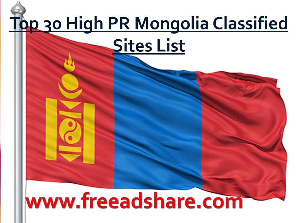 Best Mongolia Classifieds Sites List | Top 25 Free Ads Post Site in