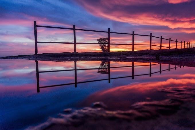 Daiñthlen sunset