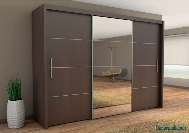 Modern sliding wardrobe and cupboards design ideas for bedroom