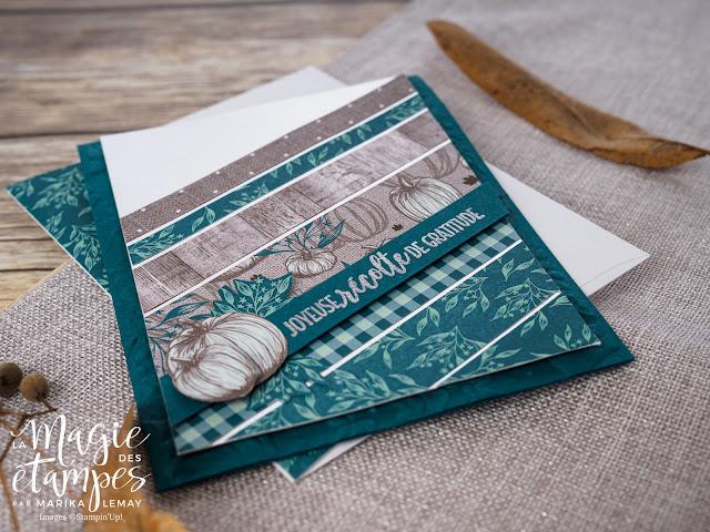 Carte Stampin' Up! Utilise tes retailles et papier design reconnaissants ensemble