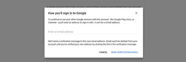 Cara Terbaru Memadam Google Akaun Serta merta