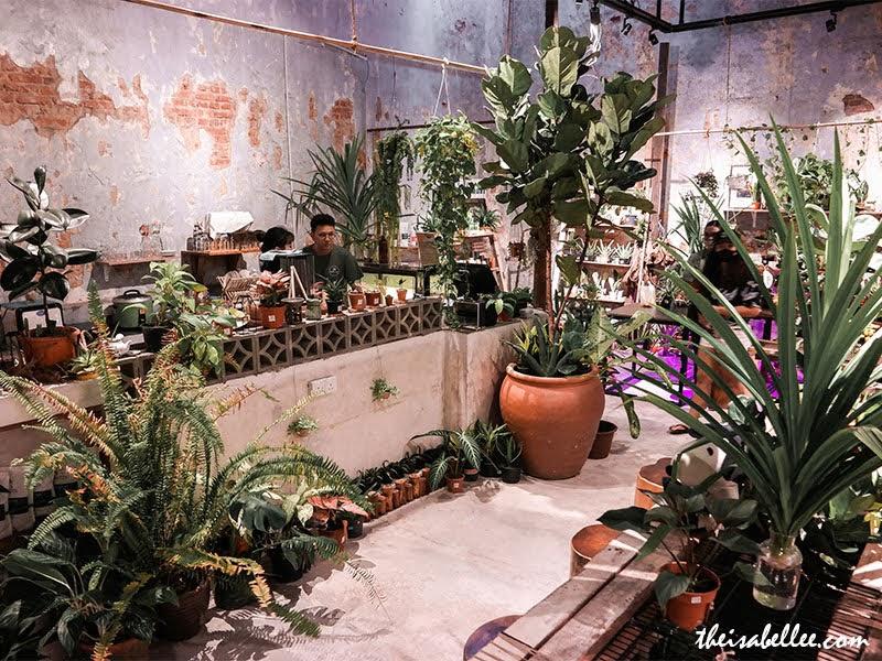 Rimba Lab plant cafe Penang