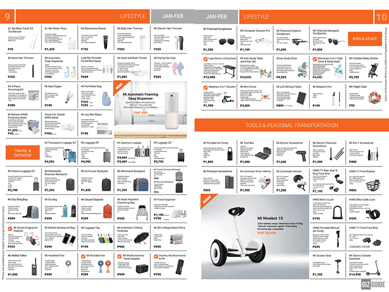 Brochure pages 9-10