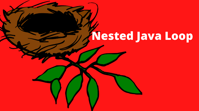 Nested loop in java - java nested loop with examples