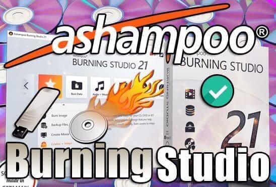 تحميل برنامج Ashampoo Burning Studio 21 Portable اخر اصدار نسخة محمولة مفعلة