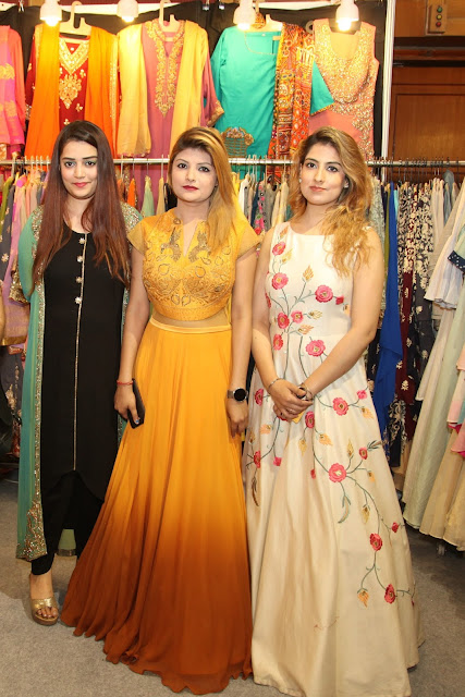 Models showcasing the collection-