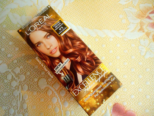 L'Oreal Paris Excellence Fashion Highlights Caramel Brown Review