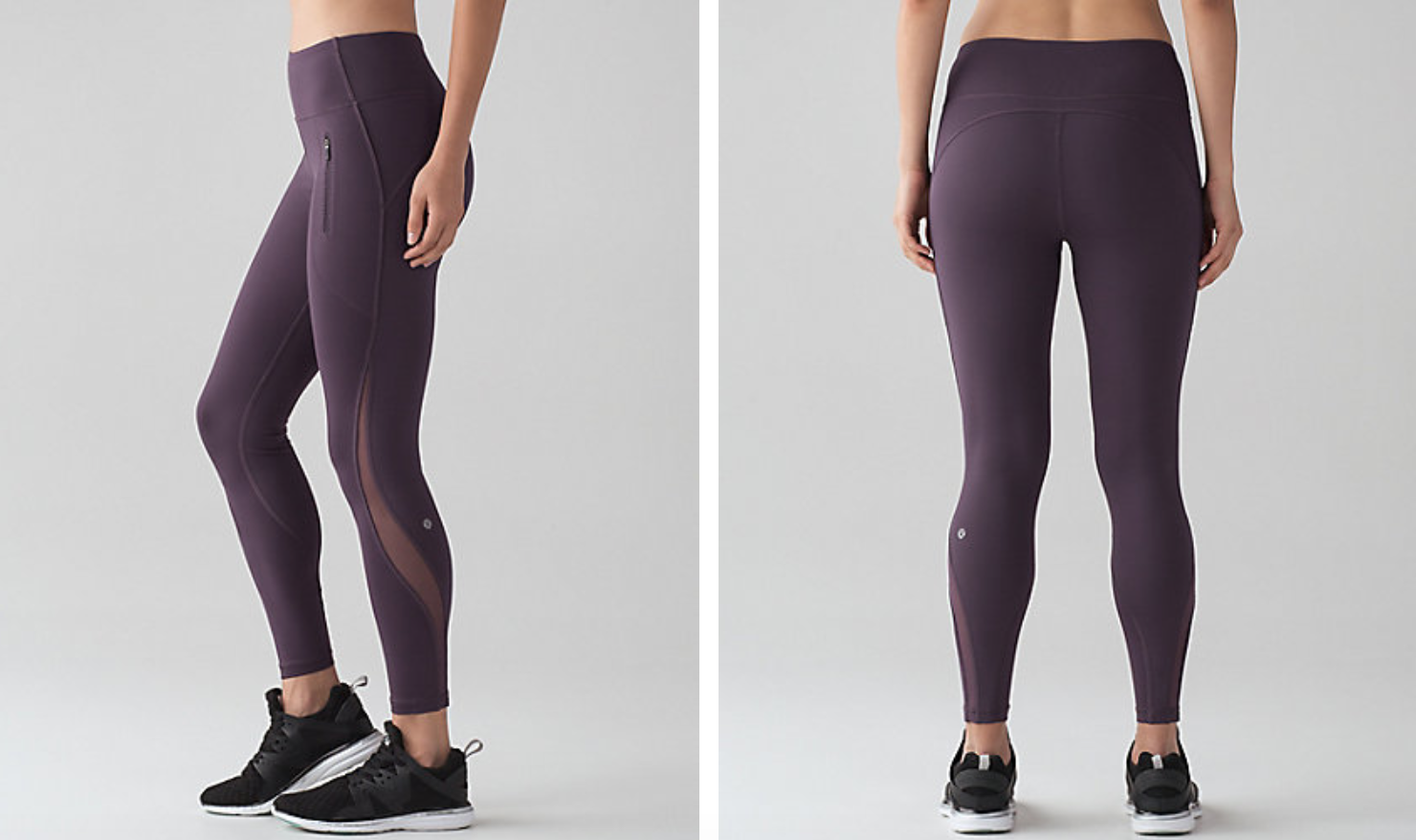 Lululemon Invigorate 7/8 Tight Black Currant