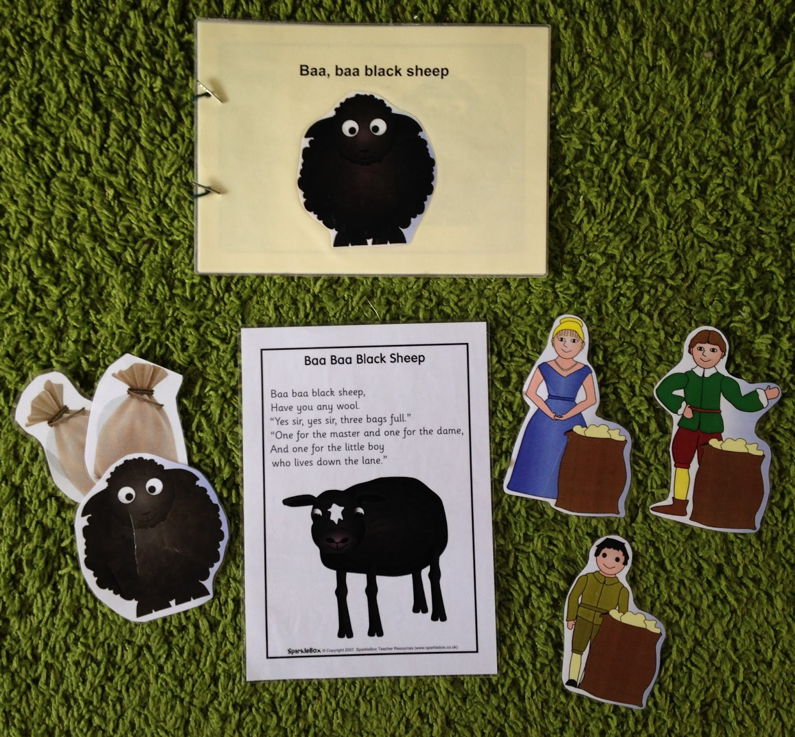 Early Language Skills Through Play Baa Baa Black Sheep
