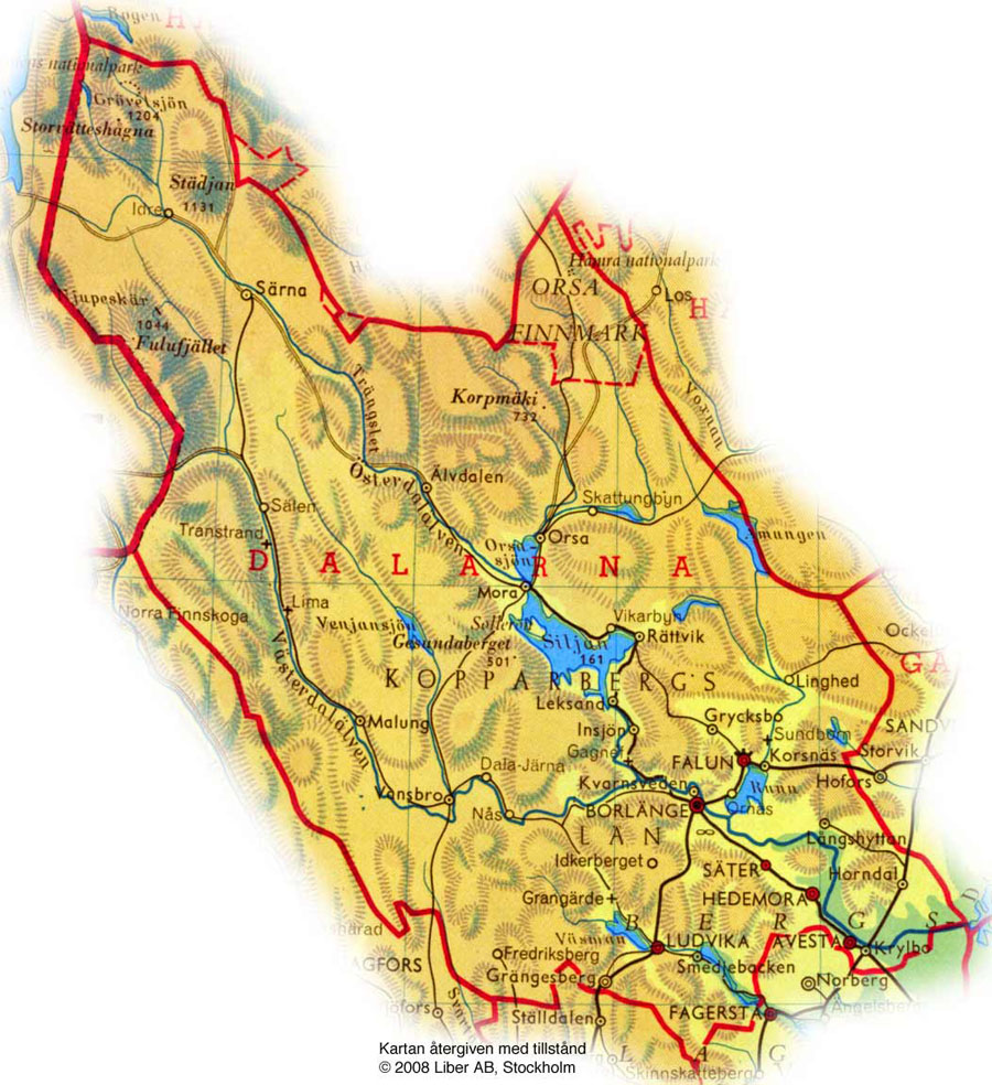 karta på dalarna map dalarna karta på dalarna