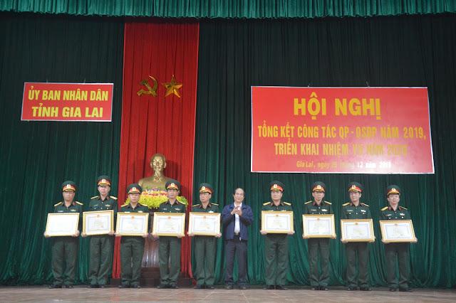 Gia Lai: Tổng kết công tác QP-QSĐP năm 2019   Dân quân tự vệ online