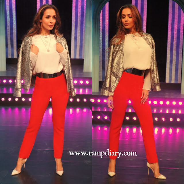 Malaika Arora in Sandro Paris