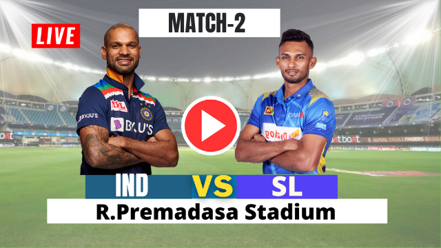 IND VS SL : 2ND ONE DAY MATCH 2021
