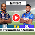IND vs SL : 2 One Day Match , SriLanka win the toss and elected to bat first, Check out the team