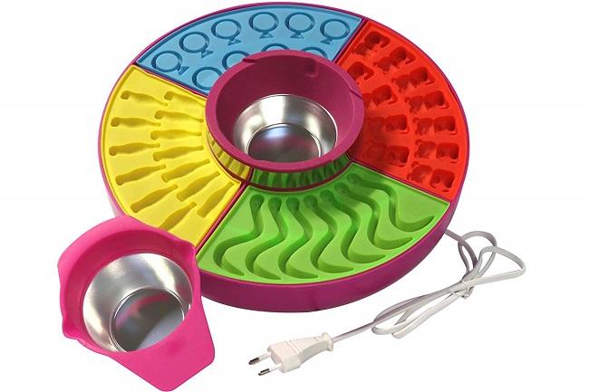 Kit para realizar gominolas