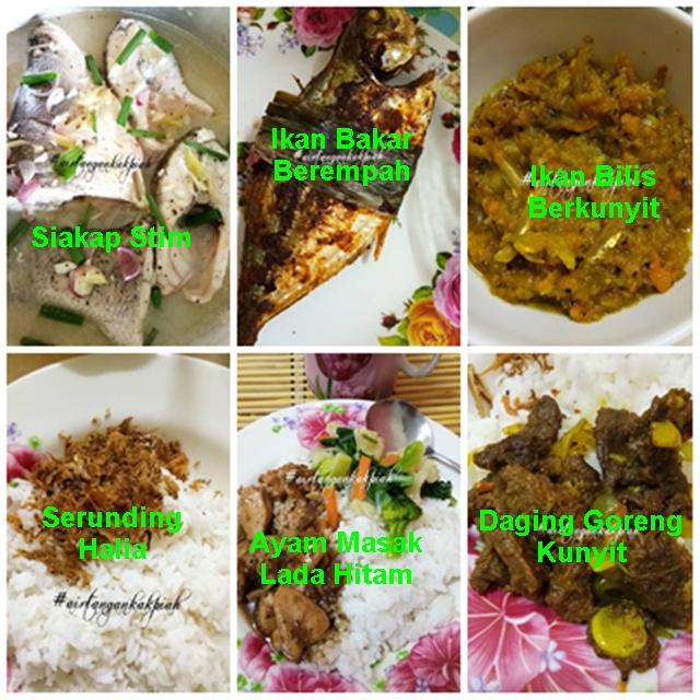 Menu Makanan Berpantang Untuk Ibu Lepas Bersalin Yang Mudah Dan Sedap