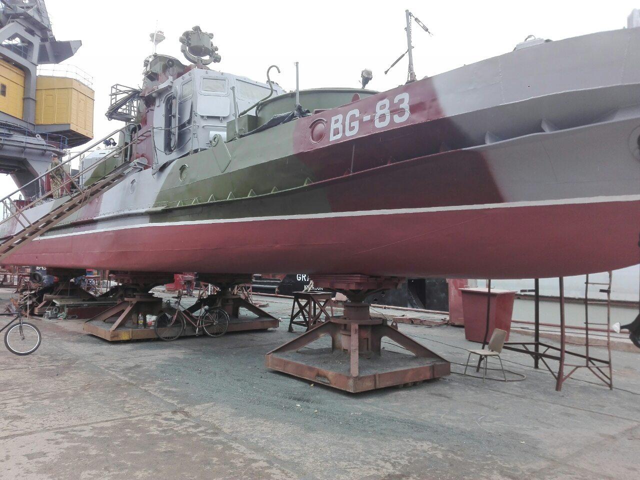 Перший Джміль ДПСУ пройшов доковий ремонт