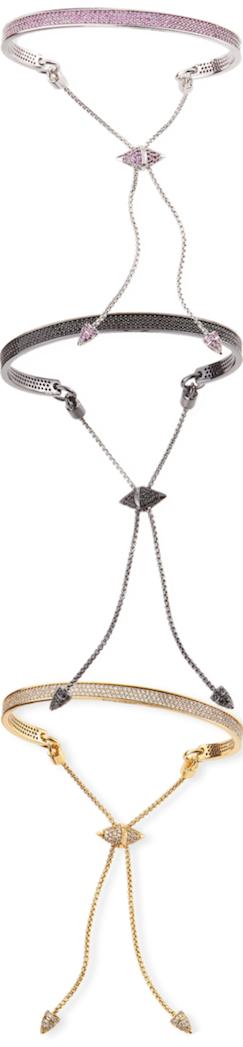 Eddie Borgo Pave Bracelets