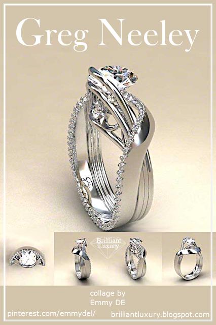 Greg Neeley White Austin 1 Diamond Ring #brilliantluxury
